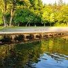 Nowy pomost nad jeziorem Kraksy