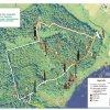 Śladami leśnych duchów - mapa
