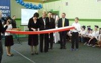 Nowa sala gimnastyczna w Kobułtach