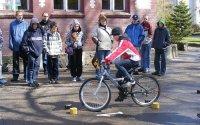 Turniej bezpieczeństwa w ruchu drogowym w Gimnazjum