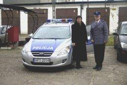 Nowy radiowóz policyjny