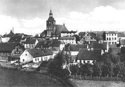 Historia Biskupca w skrócie - widok na miasto