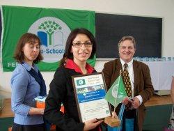 Międzynarodowy certyfikat dla szkoły w Kobułtach