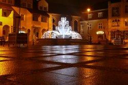 fontanna, biskupiec