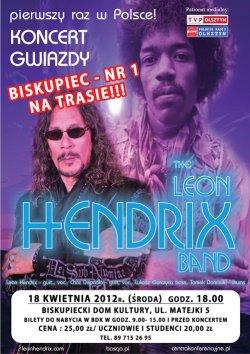 Leon Hendrix Band w Biskupcu